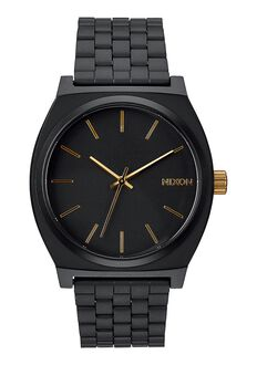 Time Teller, Matte Black / Gold