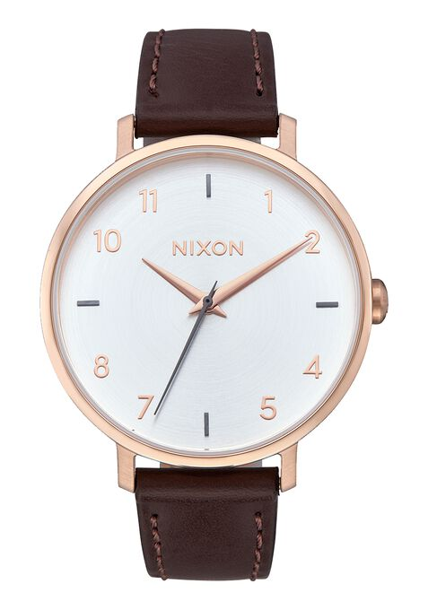 Arrow Leather, Rose Gold / Silver