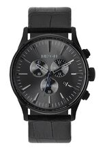 Sentry Chrono Leather, Black Gator
