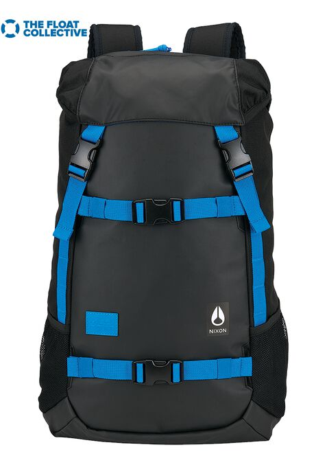 Landlock Rucksack, Black / Blue / Float