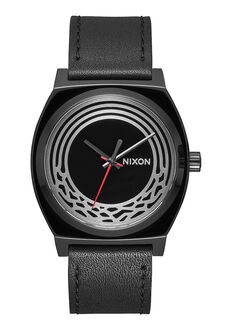 Time Teller Leather Star Wars, Kylo Black