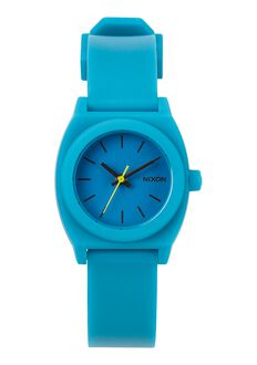Small Time Teller P, Teal