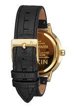 Kensington Leather, Gold / Black / White
