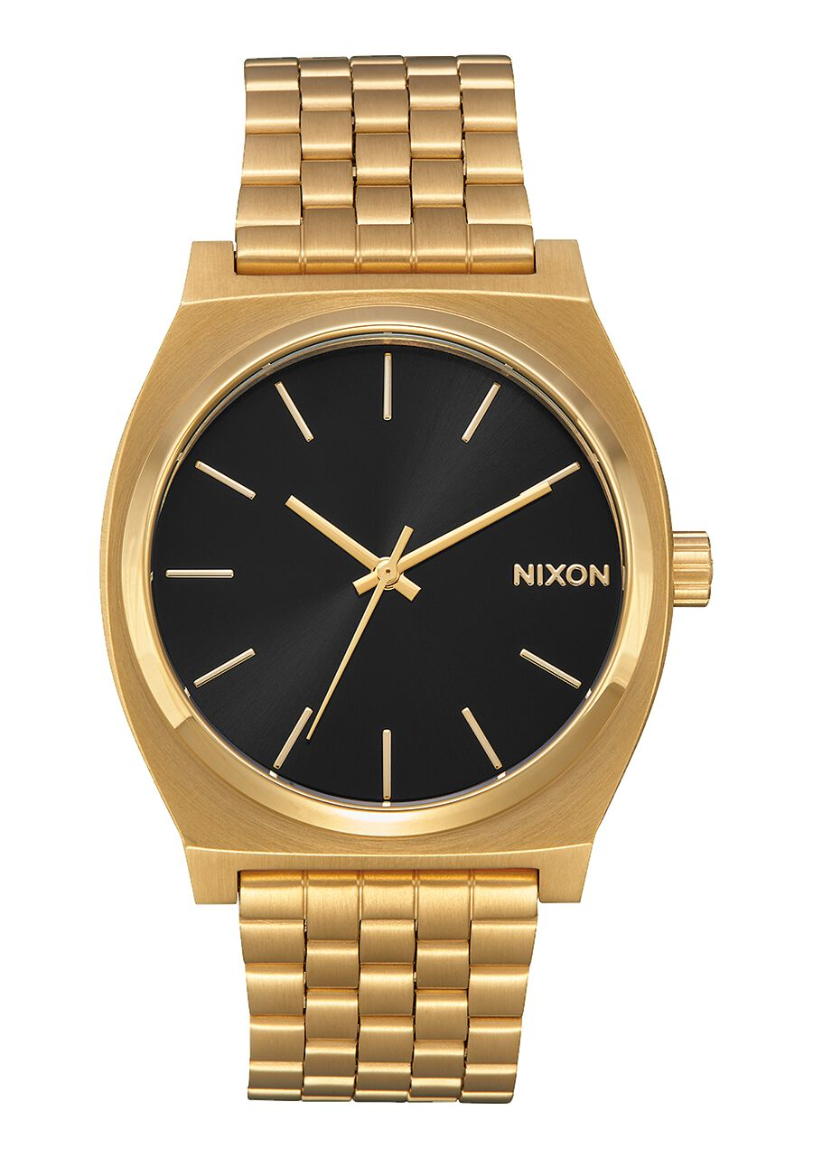 Time teller men 39 s watches nixon watches and premium accessories for Watches gold