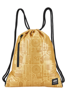 Everyday Cinch Bag SW, C-3PO Gold