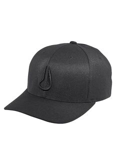 Deep Down FF Athletic Fit Hat, All Black