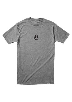 Wings II T-Shirt, Dark Heather Gray / Black