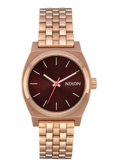Medium Time Teller, All Rose Gold / Brown