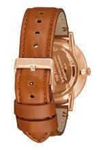 Porter Leather, Rose Gold / White / Saddle