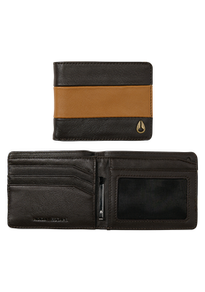 Escape Bi-Fold Clip Wallet, Brown / Saddle