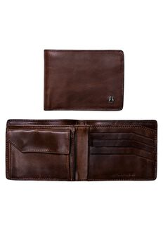 Arc SE Bi-Fold Wallet, Brown