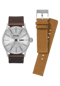 Paquete Regalo Sentry, White / Brown / Tan