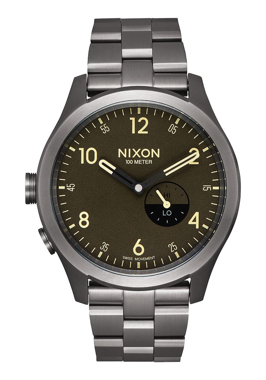 men s watches nixon watches and premium accessories beacon all gunmetal surplus