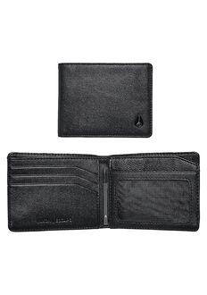 Escape Bi-Fold Clip Wallet, All Black