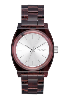 Medium Time Teller Acetate, Red