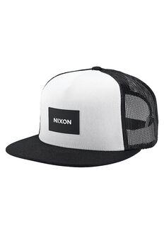 Team Trucker Hat, Black / White