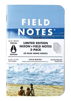 Cuadernos de Notas Field Notes X3, Photo