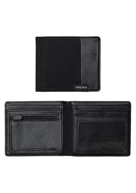 Showdown Canvas Bi-Fold Wallet, Black