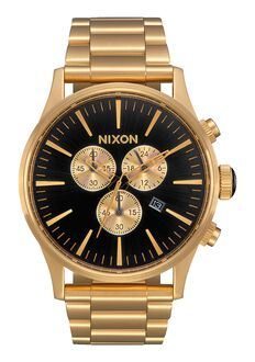 Sentry Chrono, All Gold / Black