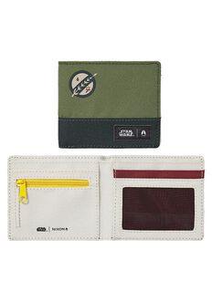 Atlas Wallet SW, Boba Fett Green