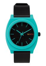 Time Teller P, Black / Teal