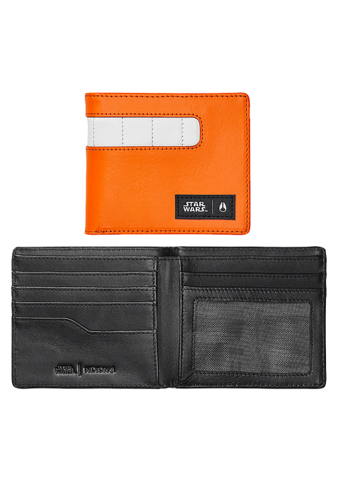 Showoff Leather Wallet SW, Rebel Pilot Orange