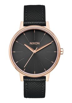 Kensington Leather, Rose Gold / Black