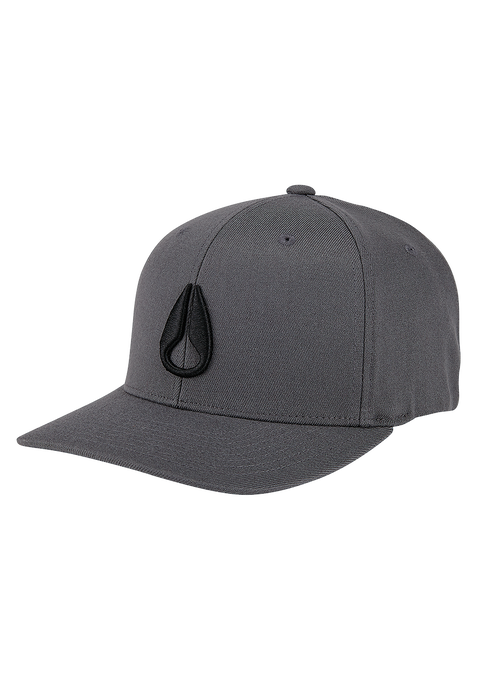 Deep Down FF Athletic Fit Hat, Charcoal / Black
