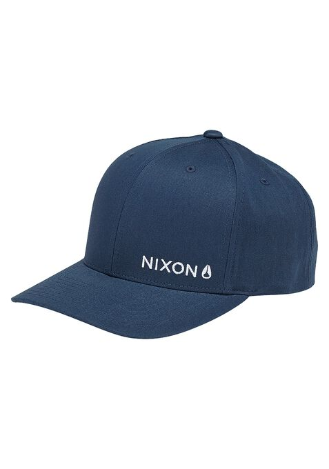 Lockup Snapback Hat, Navy