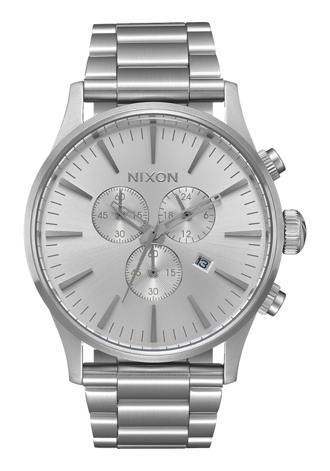 Sentry Chrono, All Silver