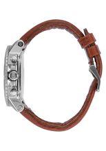 Ranger Chrono Leather, Silver / Saddle