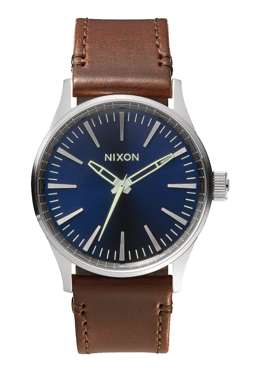 Sentry 38 Leather Men S Watches Nixon Watches And