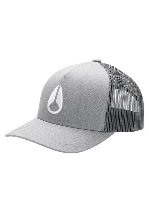Casquette Camionneur Iconed, Heather Gray