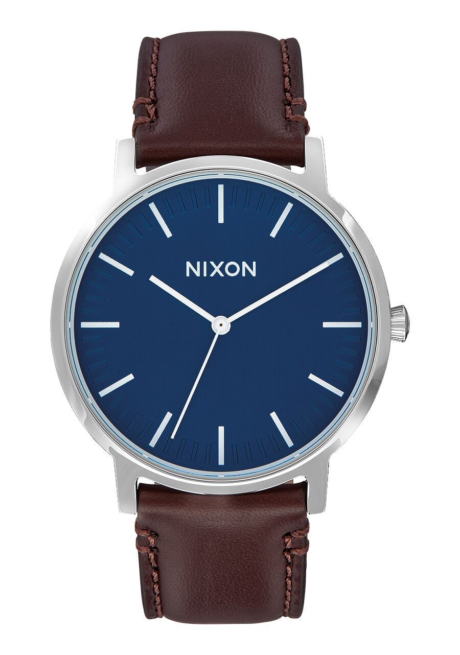 Porter Leather Men S Watches Nixon Watches And Premium