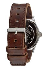 Sentry 38 Leather, Blue / Brown