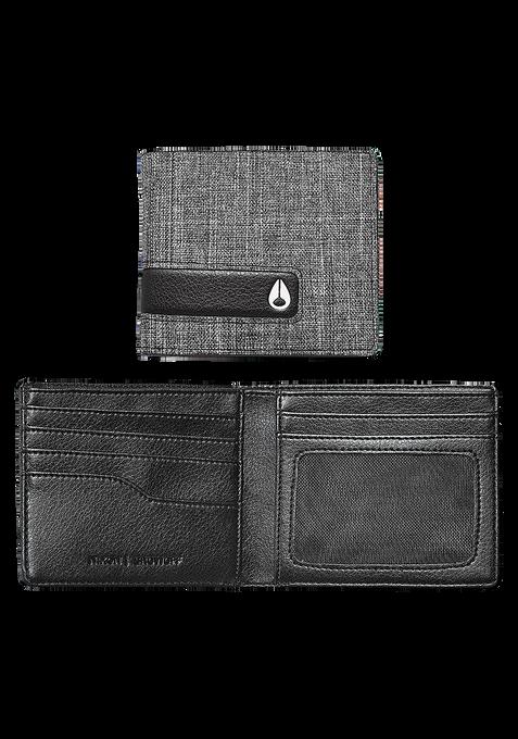 Showoff Bi-Fold Wallet, Black Wash