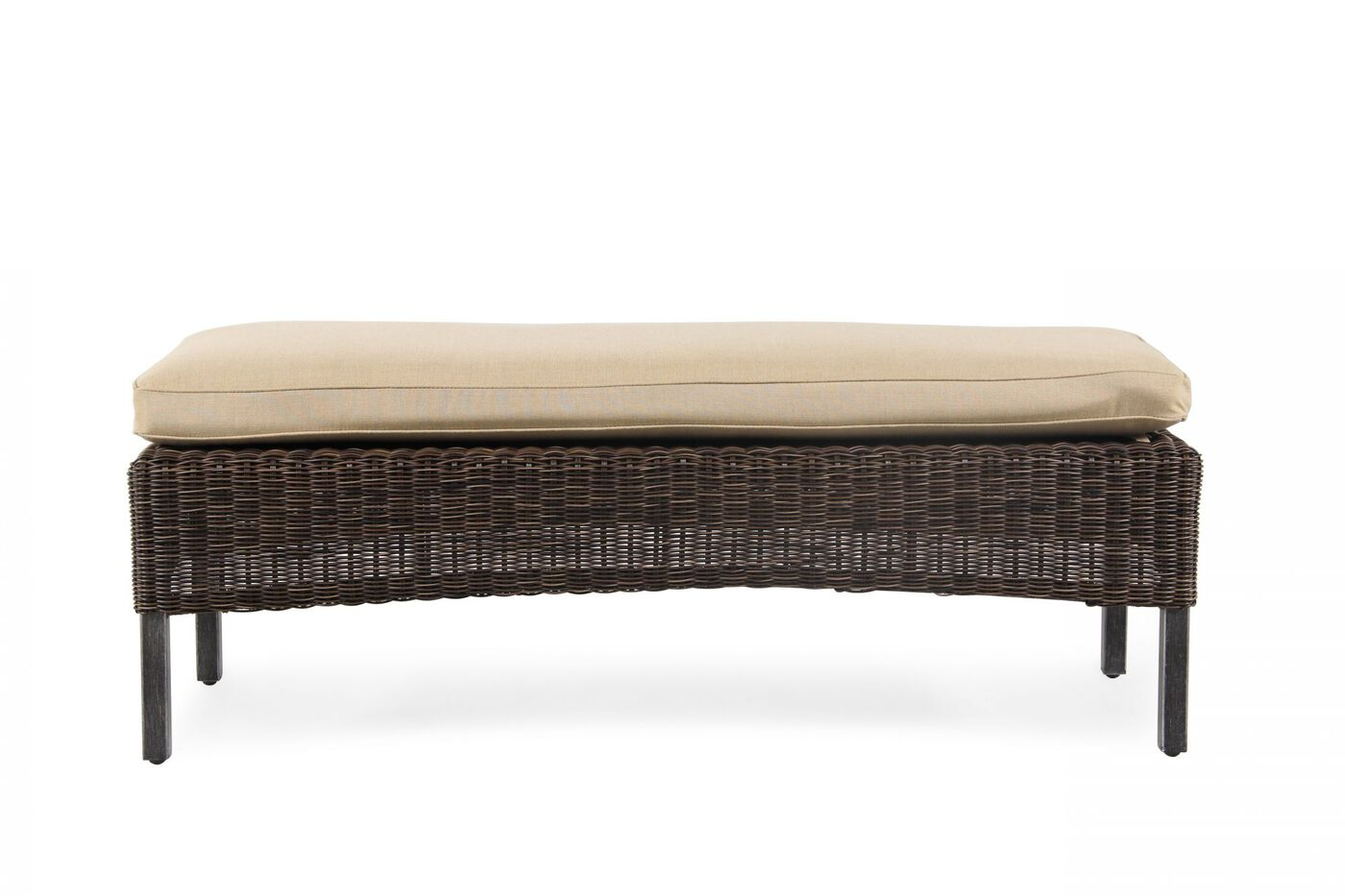 Agio Franklin Woven Bench Mathis Brothers Furniture