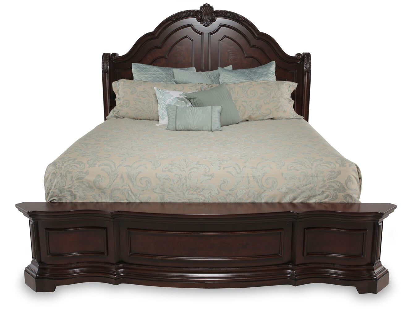 Samuel Lawrence Edington Platform Bed Mathis Brothers