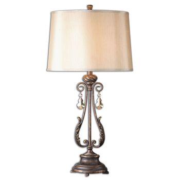 Uttermost Cassia Oil Rubbed Bronze Table Lamp