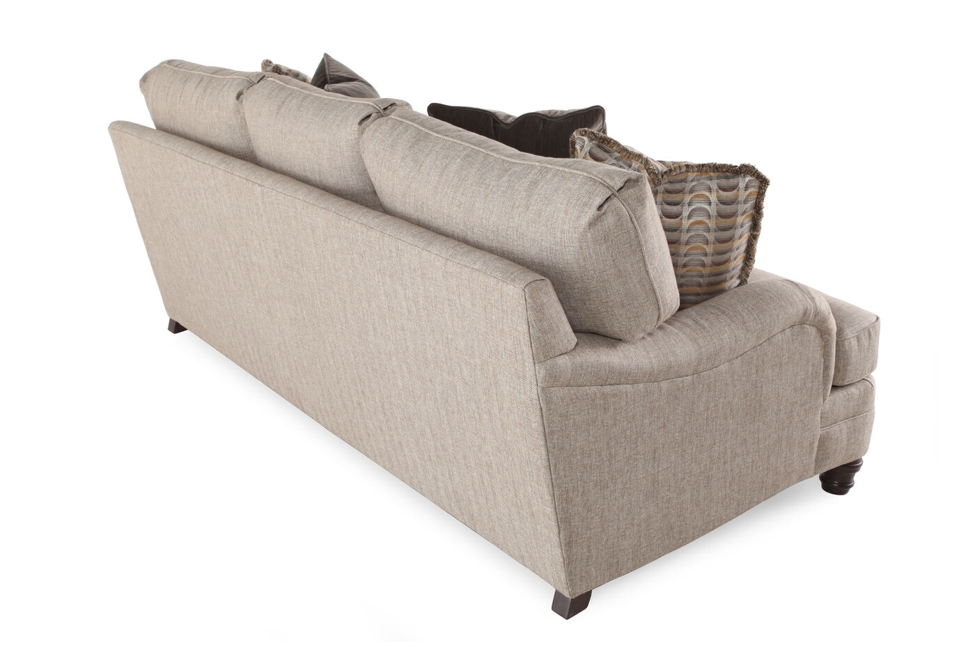 Bernhardt tarleton biege sofa mathis brothers furniture for Where to buy bernhardt furniture online