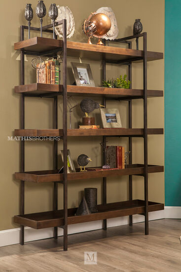 Ashley starmore brown 76 bookcase mathis brothers furniture for Starmore ashley furniture bedroom