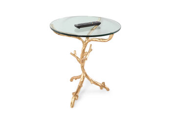 Bernhardt Interiors Ava Round End Table