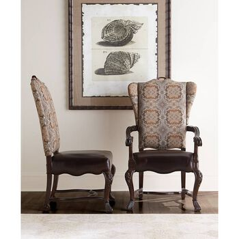 Stanley Casa D'Onore Sella Upholstered Side Chair