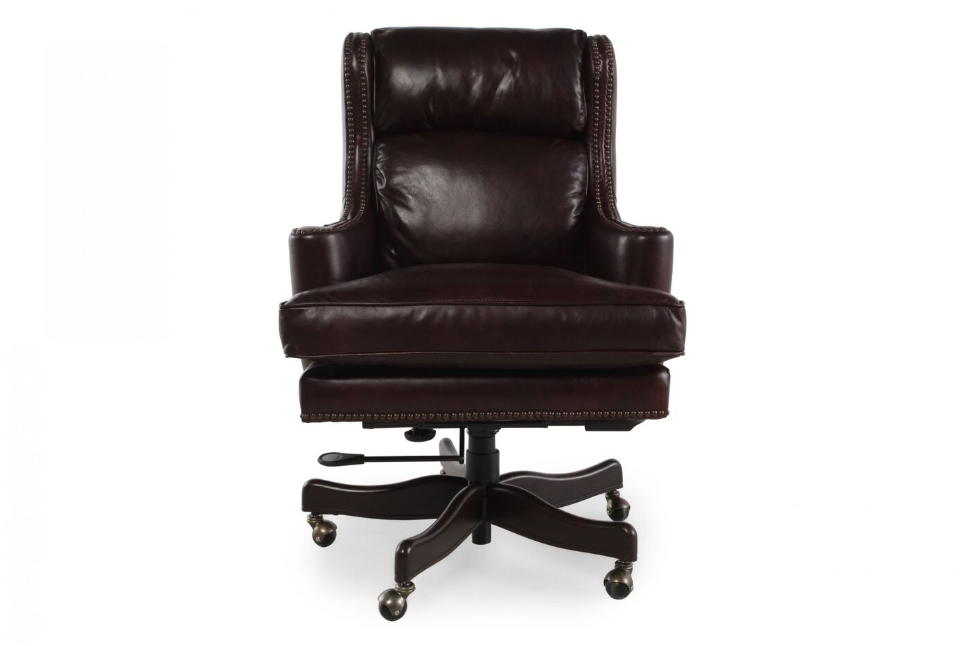 Bradington Young Kingston Voyage Desk Chair Mathis Brothers Furniture