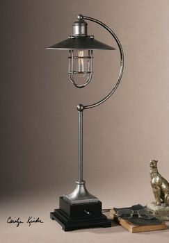 Uttermost Toledo Industrial Lamp