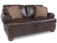 Ashley Millennium Axiom Walnut Loveseat