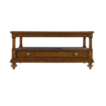 Stanley Arrondissement Heirloom Cherry Vivant Cocktail Table