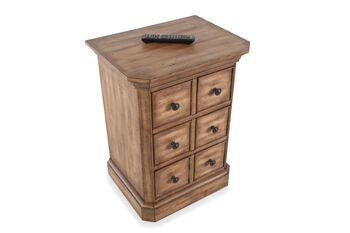 Hooker Archivist Three-Drawer Telephone Table