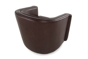 Boulevard Leather Swivel Chair