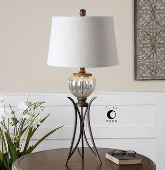Uttermost Cebrario Mercury Glass Table Lamp